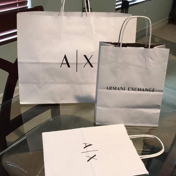 A X Armani Exchange Handbags - Armani Exchange shopping bags 1cd46d2062715